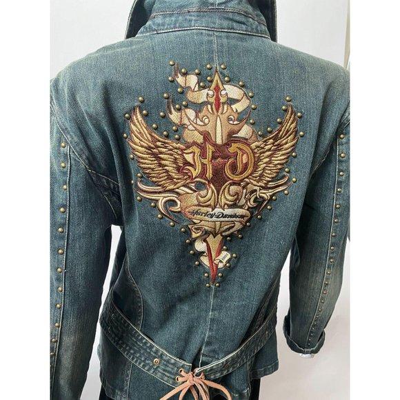 Authentic Harley Davidson Jacket – sz Lg